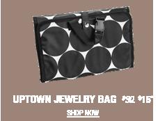 Uptown Jewelry Bag